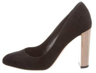 Jimmy Choo Laria Round-Toe Pumps