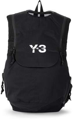 Y-3 Y 3 Running Black Nylon Backpack
