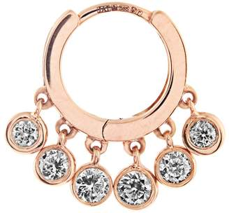 Jacquie Aiche Diamond & rose-gold earring