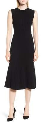 BOSS Femilia Knit Midi Dress