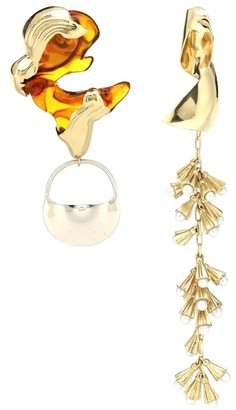 Ellery Leonard Collage earrings