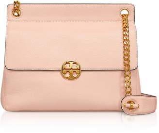 Tory Burch Pebbled Leather Chelsea Flap Shoulder Bag
