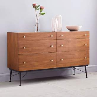 west elm Paulson Mid-Century 6-Drawer Dresser