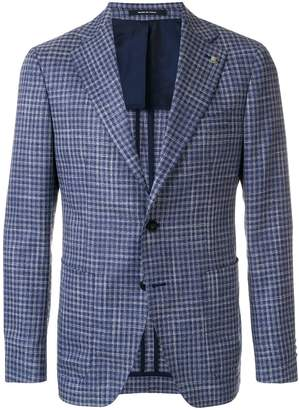 Tagliatore tailored check blazer