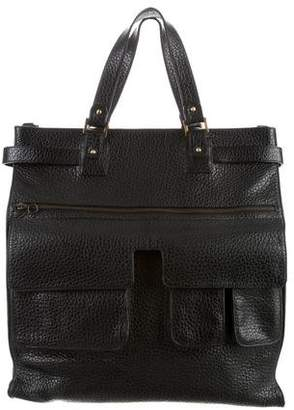 Gianfranco Ferre Grained Leather Tote