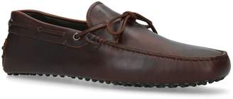 J.P Tods Waxed Leather Gommino Driving Shoes