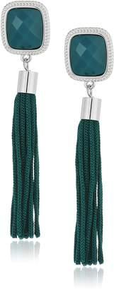 """T Tahari Roman Holiday"""" Tassel Drop Earrings"""