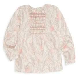 Bonpoint Little Girl's & Girl's Embroidery Blouse