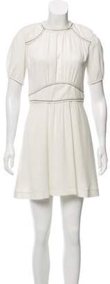 Isabel Marant Short Sleeve Mini Dress