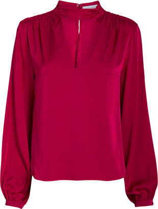 Intermix Elaine Silk Blouse