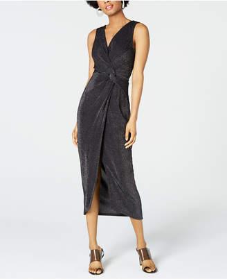 6c3d5185f BCX Juniors' Surplice Twist-Front Dress