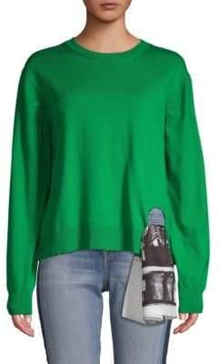 Calvin Klein Textured Cotton Sweater