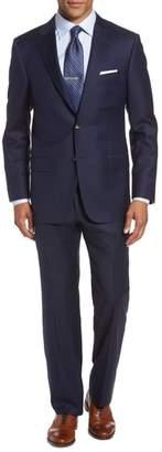 Hickey Freeman Classic B Fit Loro Piana Wool Suit