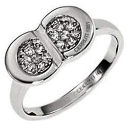 Cerruti Women's Ring Sterling Silver 4.8 g with Zirconia Silver