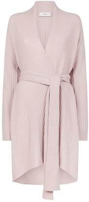 Pringle Cashmere-Wool Knitted Wrap Cardigan