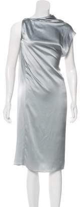 Haider Ackermann Silk Midi Dress