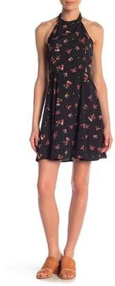 re:named apparel Flowy Floral Print Dress