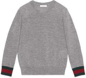Children's merino sweater with Web $195 thestylecure.com