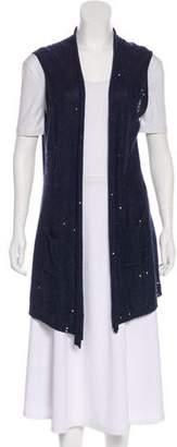 Fabiana Filippi Embellished Knit Vest