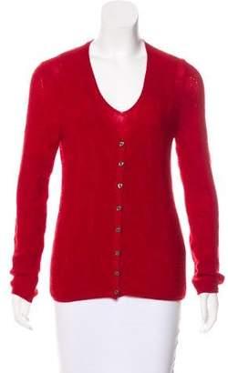 Malo Cashmere Pattern Knit Cardigan Set
