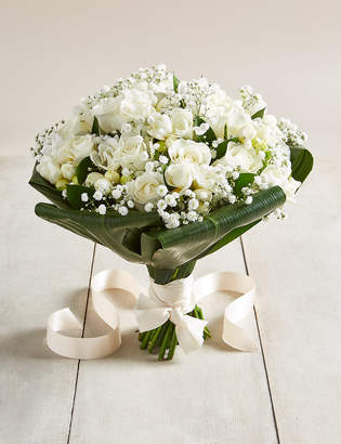 Marks and Spencer White Rose & Freesia - Wedding Party Package