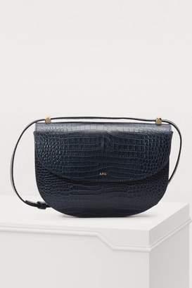 A.P.C. Geneva leather crossbody bag