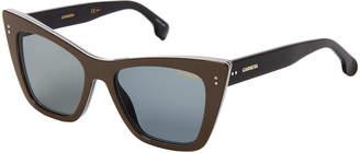 Carrera 1009/S Grey & Black Cat Eye Sunglasses
