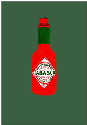 Jessica Russell Flint - Tabasco Limited Edition Print
