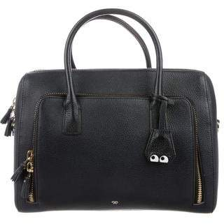Anya Hindmarch Leather Eyes Tote