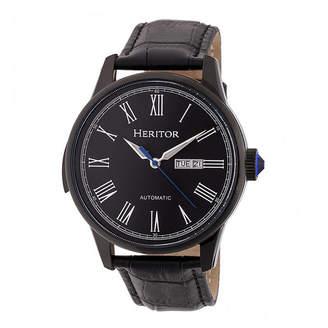 Heritor Unisex Black Strap Watch-Herhr6706