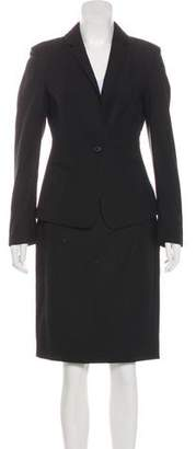 Calvin Klein Collection Wool Skirt Suit