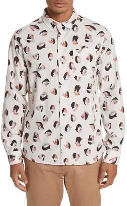 Saturdays NYC Crosby Spots Woven Shirt