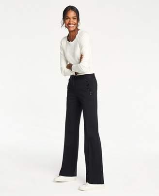 Ann Taylor Petite Sailor Flare Trousers