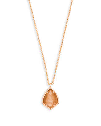 Kendra Scott Cory Pendant Necklace in Rose Gold