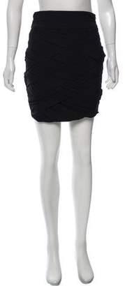 A.L.C. Ruched Mini Skirt