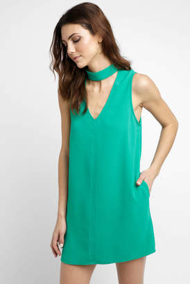 BB Dakota Sleeveless Gigi Crepe Sheath Dress
