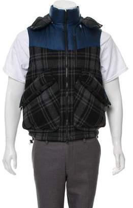 Y-3 Wool Puffer Vest