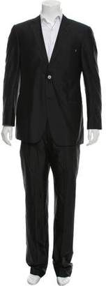 Versace Silk Two-Piece Suit