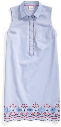 Tommy Hilfiger Sleeveless Floral Shirtdress
