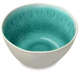 Tarhong Six-Piece Radiant Glaze Turquoise Bowl Set