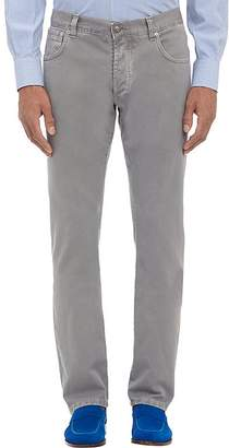 Isaia Men's Slim Straight Jeans