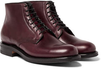 Viberg Leather Derby Boots