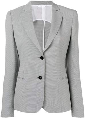 Tonello houndstooth fitted blazer