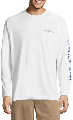REEL SOUTHERN Reel Southern Long Sleeve Logo Graphic T-Shirt