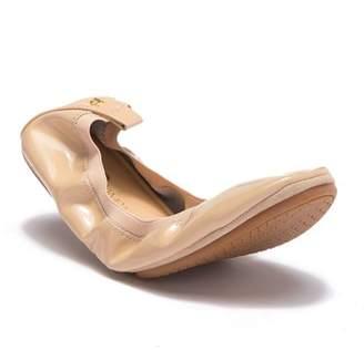 Yosi Samra Slip-On Leather Ballet Flat