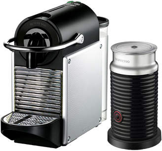 De'Longhi DeLonghi Delonghi Nespresso Pixie Single-Serve Espresso Machine & Aeroccino Milk Frother