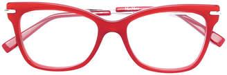 Max Mara square frame glasses