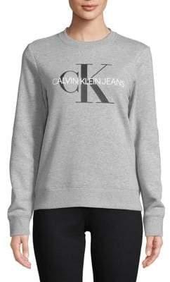 Calvin Klein Jeans Printed Long-Sleeve Tee