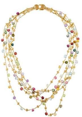 Marco Bicego Multistone Paradise Five Strand Necklace