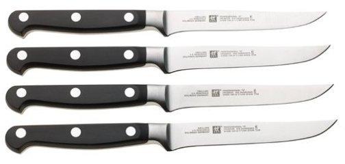 Zwilling J.A. Henckels Twin Pro-S Stainless Steel Steak Set 4pc